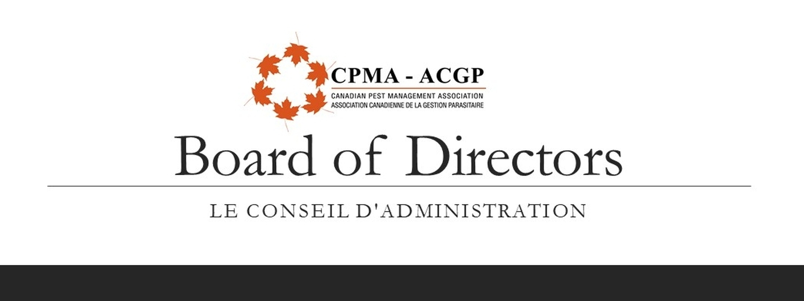 Meet the CPMA Board